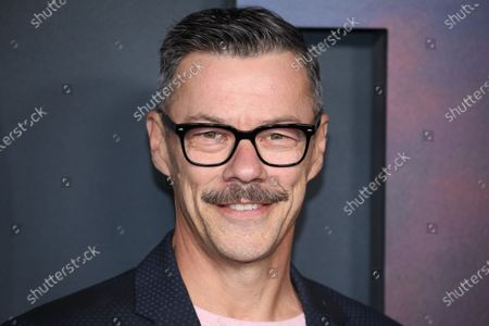 Stock Image of Massi Furlan poses on the red carpet prior to the premiere of the film '1917' at the TCL Chinese Theater in Los Angeles, California, USA, 18 December 2019. The movie will be released in US theaters on 18 December.