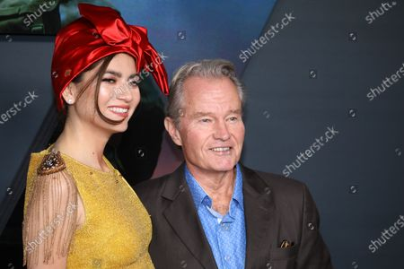Blanca Blanco (L) and John Savage (R) pose on the red carpet prior to the premiere of the film '1917' at the TCL Chinese Theater in Los Angeles, California, USA, 18 December 2019. The movie will be released in US theaters on 18 December.