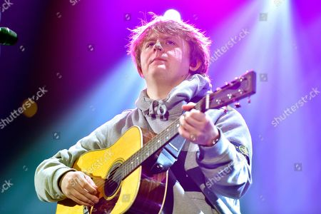 Stock Picture of Lewis Capaldi performs during 103.5 KISS FM's Jingle Ball at the Allstate Arena, in Rosemont, Ill