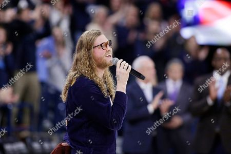 Editorial picture of North Carolina Gonzaga Basketball, Spokane, USA - 18 Dec 2019