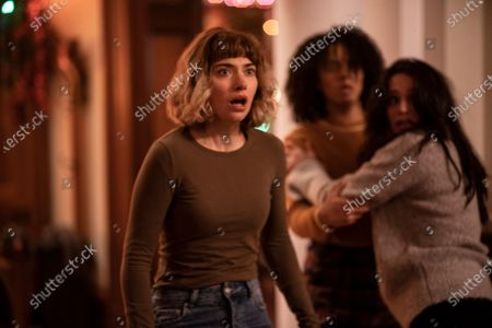 Imogen Poots as Riley, Aleyse Shannon as Kris and Lily Donoghue as Marty