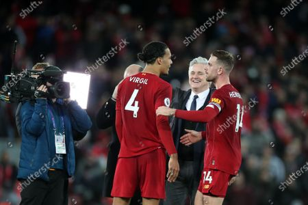 Editorial photo of Liverpool v Sheffield United, Premier League, Football, Anfield, Liverpool, UK - 02 Jan 2020