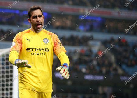 Stock Image of Claudio Bravo of Manchester City