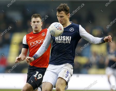 Editorial picture of Millwall v Luton Town, EFL Sky Bet Championship, Football, The Den, London, UK - 01 Jan 2020