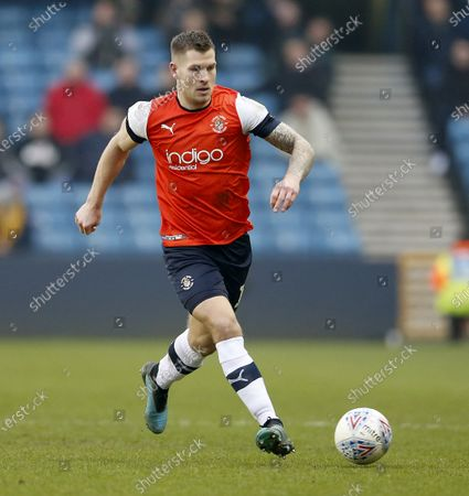 Stock Image of James Collins of Luton Town