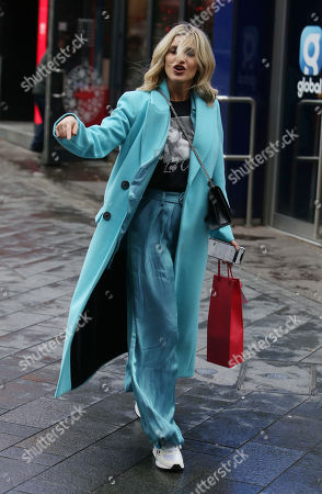 Editorial photo of Ashley Roberts out and about, London, UK - 19 Dec 2019