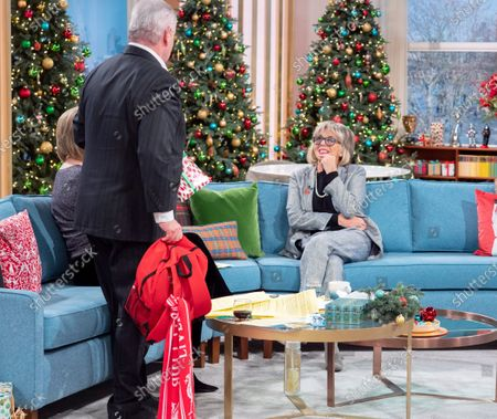 Eamonn Holmes and Ruth Langsford with Sue Johnston
