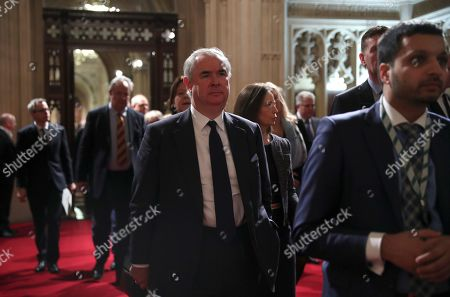 Britain's Attorney General Geoffrey Cox is seen during the State Opening of Parliament at the Houses of Parliament