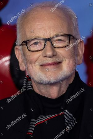 Ian McDiarmid poses for photographers upon arrival at the premiere for the film 'Star Wars: The Rise of Skywalker', in central London