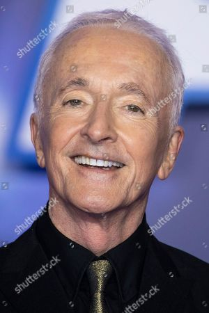 Anthony Daniels poses for photographers upon arrival at the premiere for the film 'Star Wars: The Rise of Skywalker', in central London