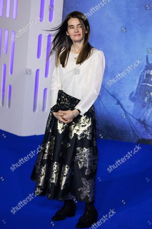 Stock Picture of Shirley Henderson poses for photographers upon arrival at the premiere for the film 'Star Wars: The Rise of Skywalker', in central London