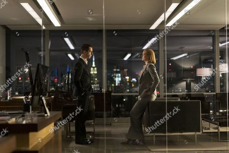 Jeremy Strong as Kendall Roy and Sarah Snook as Shiv Roy