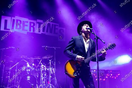 Editorial photo of The Libertines in concert at O2 Academy Brixton, London, UK - 18 Dec 2019
