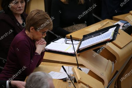 Jeane Freeman, Cabinet Secretary for Health and Sport, and Nicola Sturgeon, First Minister of Scotland and Leader of the Scottish National Party (SNP).