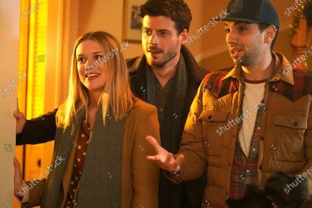 Chelsea Frei as Bridget Moody, Francois Arnaud as Dan Moody and Jay Baruchel as Sean Moody Jr.