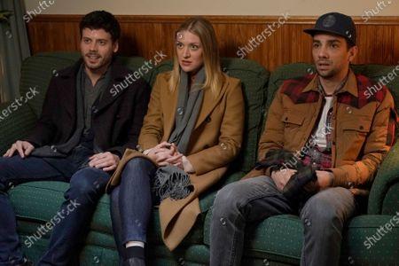 Francois Arnaud as Dan Moody, Chelsea Frei as Bridget Moody and Jay Baruchel as Sean Moody Jr.