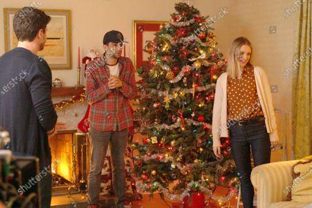 Jay Baruchel as Sean Moody Jr. and Chelsea Frei as Bridget Moody