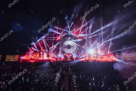 Stock Picture of Black Coffee performs during MDL Beast, a three day festival in Riyadh, Saudi Arabia, bringing together the best in music, performing arts and culture.