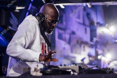 Black Coffee performs during MDL Beast, a three day festival in Riyadh, Saudi Arabia, bringing together the best in music, performing arts and culture.