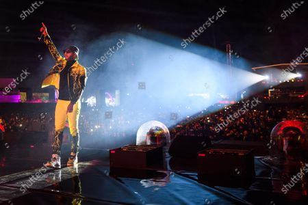 Swizz Beatz performs during MDL Beast, a three day festival in Riyadh, Saudi Arabia, bringing together the best in music, performing arts and culture.