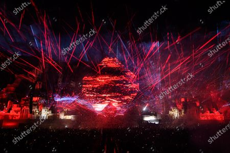 Stock Image of Martin Garrix performs during MDL Beast, a three day festival in Riyadh, Saudi Arabia, bringing together the best in music, performing arts and culture.