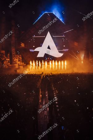 DJ Afrojack performs during MDL Beast, a three day festival in Riyadh, Saudi Arabia, bringing together the best in music, performing arts and culture.