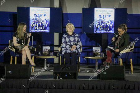 Chelsea Clinton, Hillary Clinton and Vanessa L. Williams