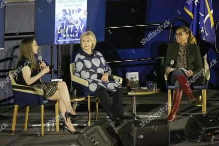 Editorial image of 'The Book of Gutsy Women' talk, Pace University, New York, USA - 18 Dec 2019