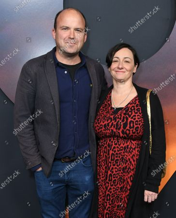 Stock Picture of Rory Kinnear and Pandora Colin