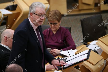 """Referendums (Scotland) Bill - Michael Russell, Cabinet Secretary for Government Business and Constitutional Relations or """"Brexit Minister"""", and Nicola Sturgeon, First Minister of Scotland and Leader of the Scottish National Party (SNP)"""