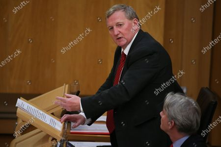 Referendums (Scotland) Bill - Alex Rowley and Richard Leonard, Leader of the Scottish Labour Party