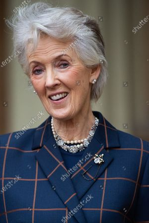 Stock Picture of Author Joanna Trollope is awarded a CBE for services to literature