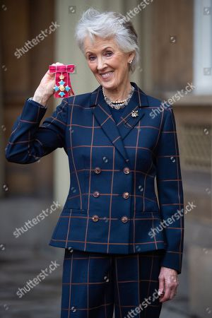 Author Joanna Trollope is awarded a CBE for services to literature
