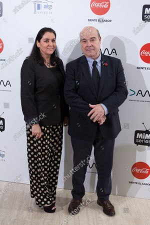 Stock Photo of Marisol de Mateo and Antonio Resines