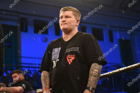 Ricky Hatton during a Boxing Show at York Hall on 19th December 2019