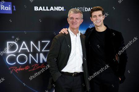 Editorial picture of 'Danza Con Me' TV show, Milan, Italy - 19 Dec 2019