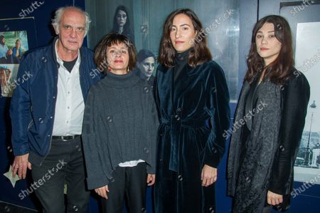 Jean-Louis Martinelli, Anouk Grinberg, Charlotte Dauphin and Astrid Berges-Frisbey