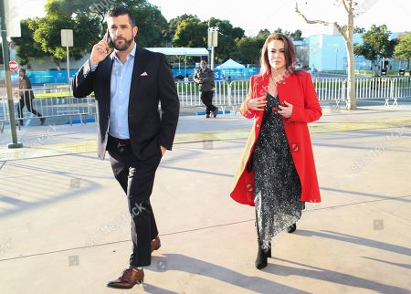 Stock Picture of Dave Bugliari and Alyssa Milano