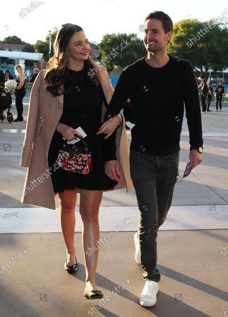 Miranda Kerr and Evan Spiegel