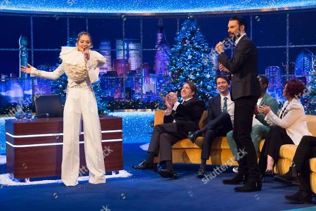 Editorial image of 'The Jonathan Ross Show', TV show, Series 15, Episode 15, London, UK - 24 Dec 2019