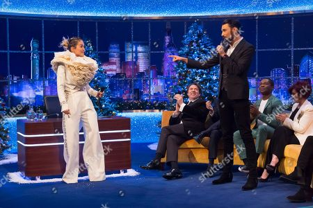 Editorial picture of 'The Jonathan Ross Show', TV show, Series 15, Episode 15, London, UK - 24 Dec 2019