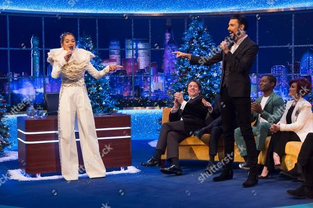 Editorial photo of 'The Jonathan Ross Show', TV show, Series 15, Episode 15, London, UK - 24 Dec 2019