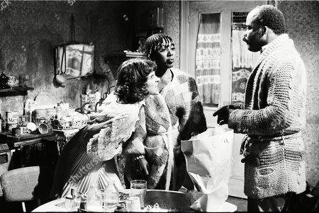 Frances Tomelty as Irene Connor, Joan Ann Maynard as Edna Walter and Oscar James as Meadowlark Warner