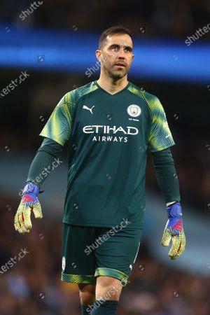 Claudio Bravo of Manchester City