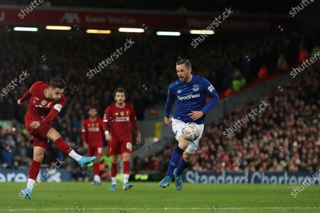 Editorial picture of Liverpool v Everton, Emirates FA Cup Third Round, Football, Anfield, UK - 05 Jan 2020