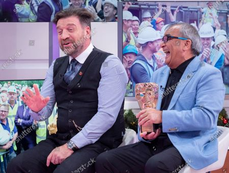 Nick Knowles and Billy Byrne