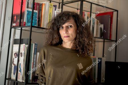Editorial image of Houda Benyamina at her office in Paris, France - 09 Dec 2019