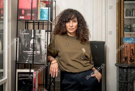 Editorial picture of Houda Benyamina at her office in Paris, France - 09 Dec 2019