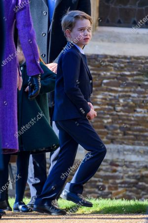 Prince George at St Mary Magdalene Church