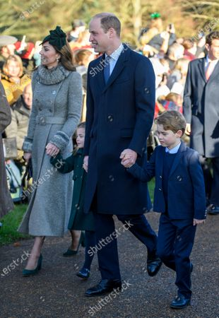 Editorial picture of Christmas Day church service, Sandringham, Norfolk, UK - 25 Dec 2019